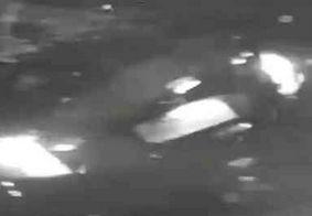 Vídeo: veja o momento em que bandidos arrombam loja com carro roubado, em JP