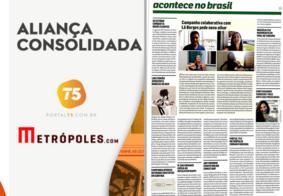 Parceria entre Portal T5 e Metrópoles é destaque em revista especializada de circulação nacional