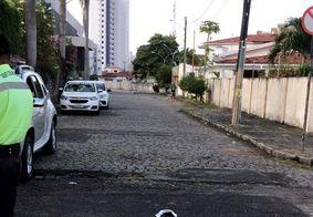 Rua Doutor San Juan passa por mudanças, em João Pessoa.