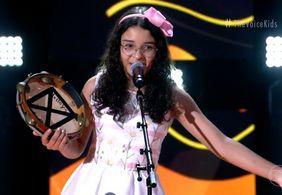 Helloysa do Pandeiro chega à final, mas não ganha troféu do The Voice Kids