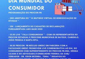Dia Mundial do Consumidor conta com mutirão virtual
