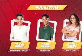 """Veja os participantes escolhidos para a final do """"The Voice Kids"""""""