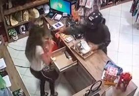 Imagens fortes: homem confessa ter simulado assalto em loja para matar a ex no RN