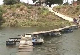 Enquanto vereadores usam dinheiro público, população de Santa Rita sofre com queda de ponte