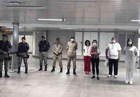 Coronavírus: barreira sanitária é realizada no Aeroporto Castro Pinto para identificar possíveis contaminações