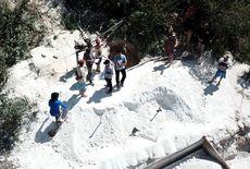 Dois trabalhadores morrem soterrados durante extração de caulim na PB