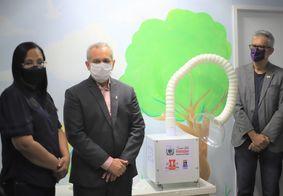 UFPB entrega protótipo de purificador de ar anti-covid-19 ao HU