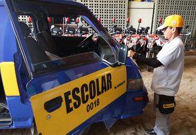Detran reprova mais da metade dos veículos escolares durante vistoria na Paraíba