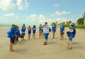 Praias paraibanas recebem ação no Dia Mundial da Limpeza