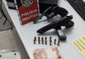 Homens armados são presos com motocicleta roubada na Paraíba