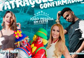 'João Pessoa em Festa' anima o Parque da Lagoa neste sábado (30)
