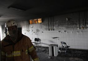 Incêndio danificou a estrutura do local