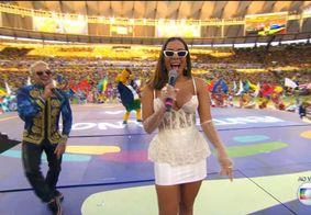 Anitta dedica apresentação na final da Copa América a João Gilberto; veja fotos