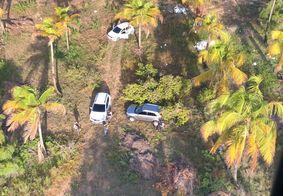 Polícia localiza esconderijo de carros roubados no Litoral Sul da PB