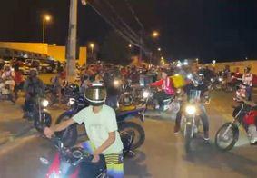 Motoboys fazem nova manifestação após morte de Kelton Marques