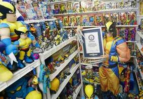 Americano entra pro livro dos recordes com coleção de 15 mil itens de X-Men