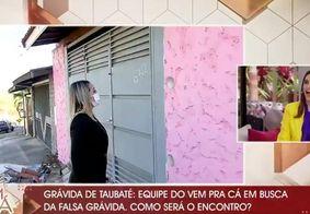 Vídeo | Equipe do SBT é agredida ao tentar reencontrar 'Grávida de Taubaté'