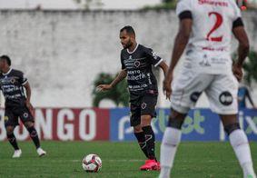 Belo perdeu pelo placar mínimo no Almeidão