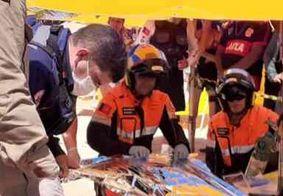 Polícia prende pai e filho suspeitos de matar empresário na praia do Bessa, em João Pessoa