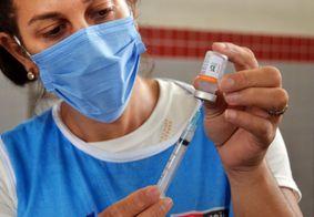 Aplicação de vacinas em João Pessoa