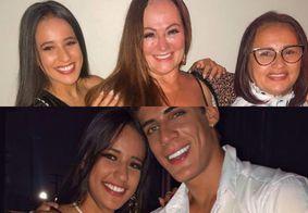 Após polêmicas com ex, mãe de Neymar surge ao lado de mãe e irmã dele