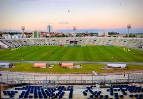 Estádio Amigão receberá 450 pessoas para jogo entre Brasil x Argentina