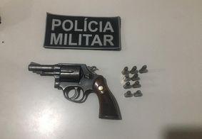 Pai suspeito de ameaçar filho com arma de fogo é preso na PB