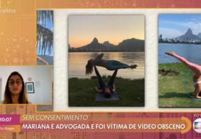 Advogada vítima de ato obsceno quando praticava ioga sofre ameaças