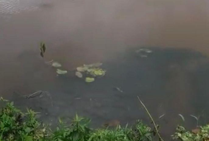 Local onde o corpo foi encontrado