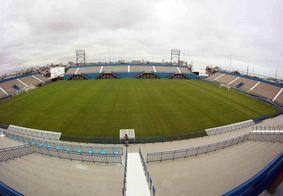 Estádio Colina, onde o Botafogo-PB encara o Manaus