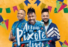 Ao vivo: acompanhe a Live 'Arraiá do Pixote'