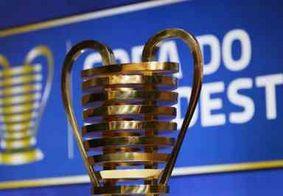 Taça da Copa do Nordeste chega a João Pessoa nesta segunda-feira (17)