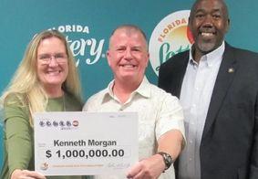 Homem encontra bilhete de loteria durante faxina e fatura R$ 5 mi