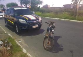 PRF-PB recupera motocicleta que foi roubada há 10 anos em João Pessoa