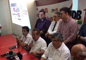 """""""Só não serei candidato se me matarem"""", diz Maranhão durante lançamento de aplicativo"""