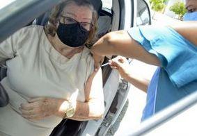 Domingo termina com mais de 3 mil vacinados contra Covid-19 em João Pessoa