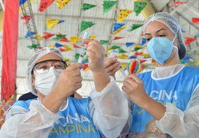 Equipes que mais vacinaram contra a Covid-19 receberão R$ 3 mil