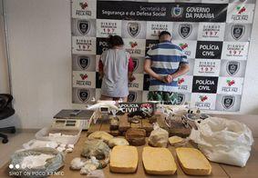 Casal é preso suspeito de usar drones para arremessar drogas em presídios de João Pessoa