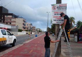 Covid: Mais de 245 veículos são autuados por estacionarem na orla de João Pessoa
