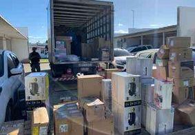 Polícia da PB recupera parte de carga roubada e investiga quadrilha pernambucana