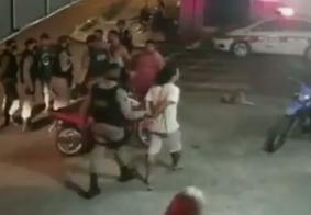 Câmera flagra tentativa de homicídio no Cristo, em João Pessoa