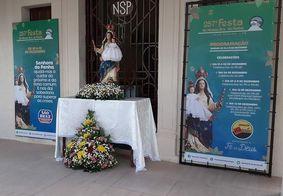 Festa de Nossa Senhora da Penha tem transmissão on-line e presença limitada de fiéis