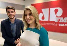 Karine Tenório assume bancada na Jovem Pan João Pessoa ao lado de Daniel Lustosa