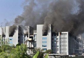 Incêndio afeta fábrica de vacinas indiana