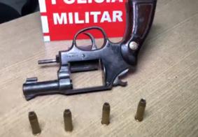 Após denúncia, polícia apreende arma de fogo na Grande João Pessoa