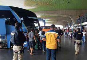 Ônibus intermunicipais voltam a circular nesta segunda-feira (20)