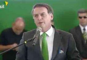 Bolsonaro fala sobre soltura de Lula e pede para não dar 'munição ao canalha'