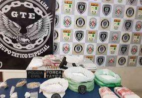 Suspeito de comandar tráfico em cidade da PB é preso com quase 2kg de crack e 10 kg de cocaína