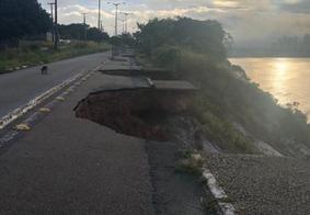 Barreira do Cabo Branco: ponto turístico de João Pessoa sofre com erosão