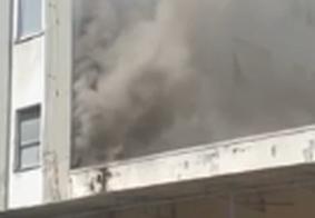 Incêndio atinge parte de hospital no Rio de Janeiro